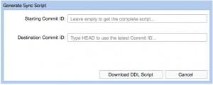 Get Script Dialog